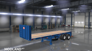 Flatbed ferbus owned ATS 1.33 mudflaps animations!, 18 photo