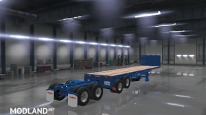 Flatbed ferbus owned ATS 1.33 mudflaps animations!, 2 photo