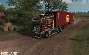 D-Tec 40ft. Container Trailer ATS 1.36, 1 photo