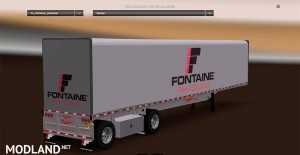 Fontaine Phantom Flatbed Trailers reworked by Solaris36, 1 photo