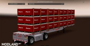 Fontaine Phantom Flatbed Trailers reworked by Solaris36, 3 photo