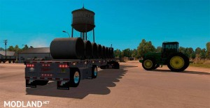 Fontaine Phantom Flatbed Trailers reworked by Solaris36, 2 photo