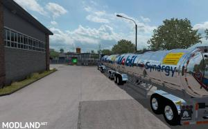 Gasero Gas trailers for ATS 1.35 , 2 photo