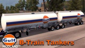 Gulf B-Train Tankers Skin, 1 photo