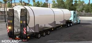 Large Metal Tube Trailer White Version, 2 photo