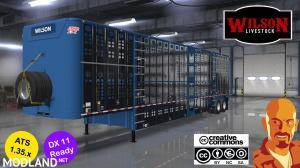 WILSON LIVESTOCK TRAILERS REWORKED 1.35.x DX11