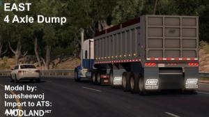 EAST 4 Axle Dump 1.32.x, 1 photo