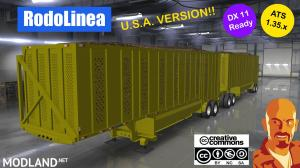 RODOLINEA SUGAR CANE TRAILERS (U.S.A. EDITION) ATS 1.35.X DX11, 1 photo