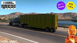 RODOLINEA SUGAR CANE TRAILERS (U.S.A. EDITION) ATS 1.35.X DX11, 3 photo