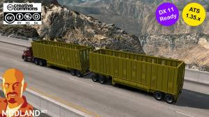 RODOLINEA SUGAR CANE TRAILERS (U.S.A. EDITION) ATS 1.35.X DX11, 2 photo