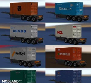 Trailer Pack Container 20ft v 2.0