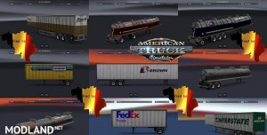 Trailers Pack v 1.0 Replaces (+/- 60 skins)
