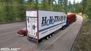 Krone Doubledeck Trailer in traffic ATS 1.36 & up, 4 photo