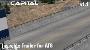 Invisible Trailer for ATS ByCapital v1.1, 1 photo