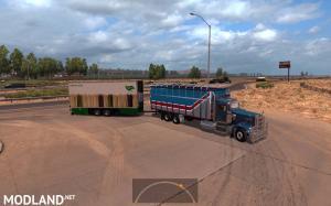 Tandem trailers from BDF BIG MEGA PACK v 2.0 for Kenworth W900 Torton V1 NEW!, 3 photo