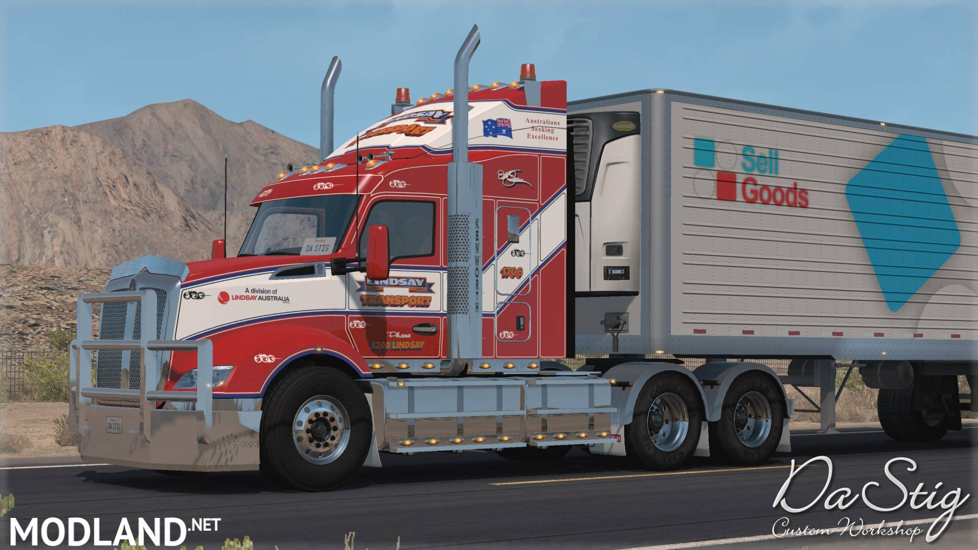 KENWORTH T610 (upd 25.05.19) 1.35.x Mod For American Truck