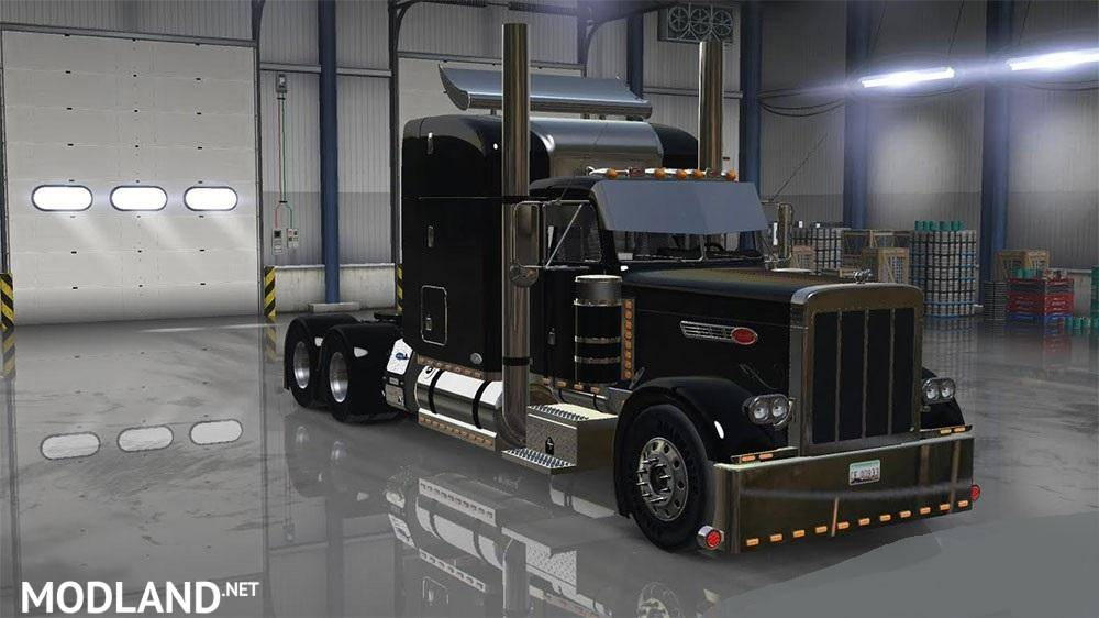 1999 peterbilt 379 custom v 1 3 mod for american truck - Peterbilt 379 interior accessories ...
