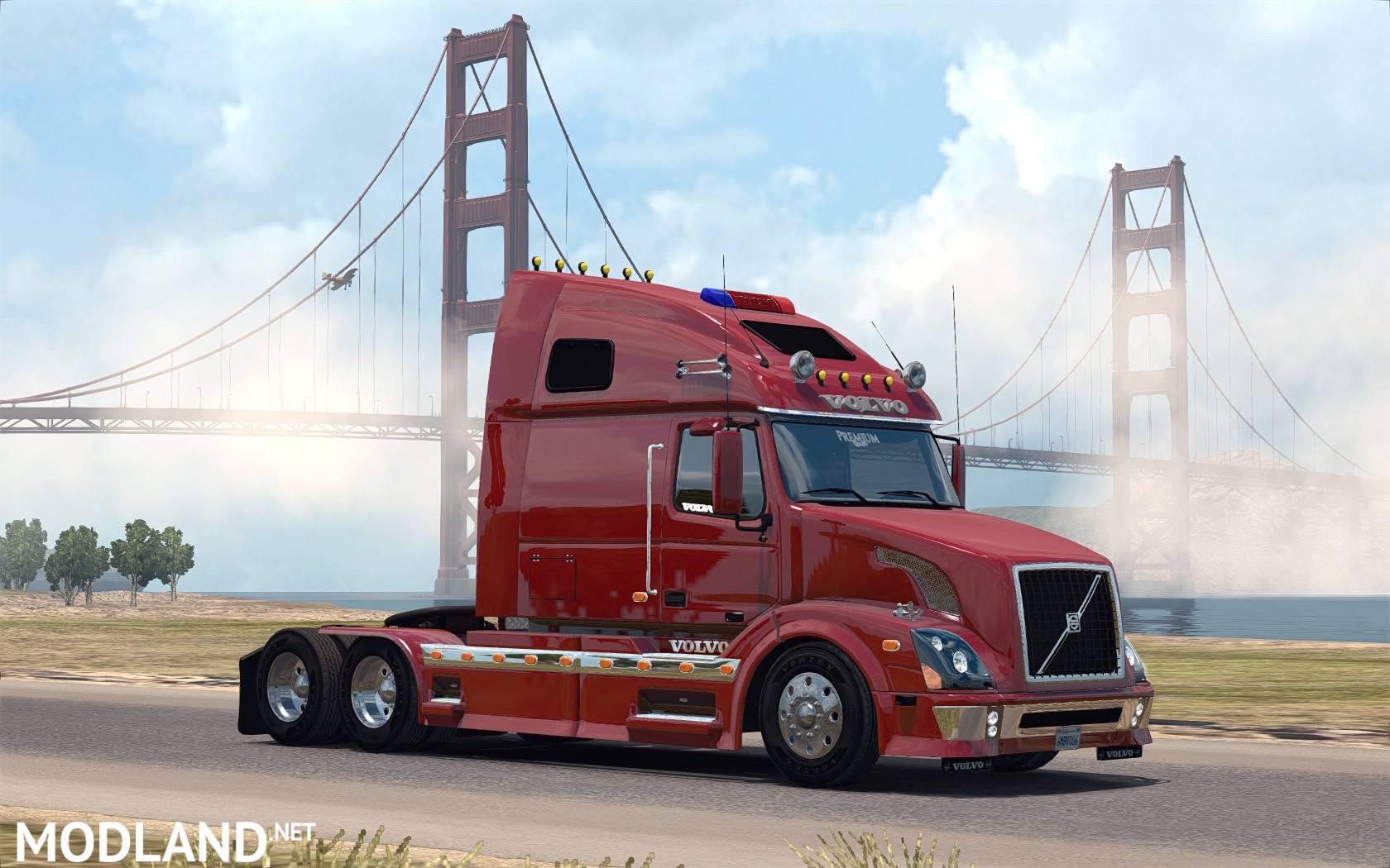 Volvo vnl 670 for ats v1 2 by aradeth mod for american truck simulator ats - Volvo vnl wallpaper ...