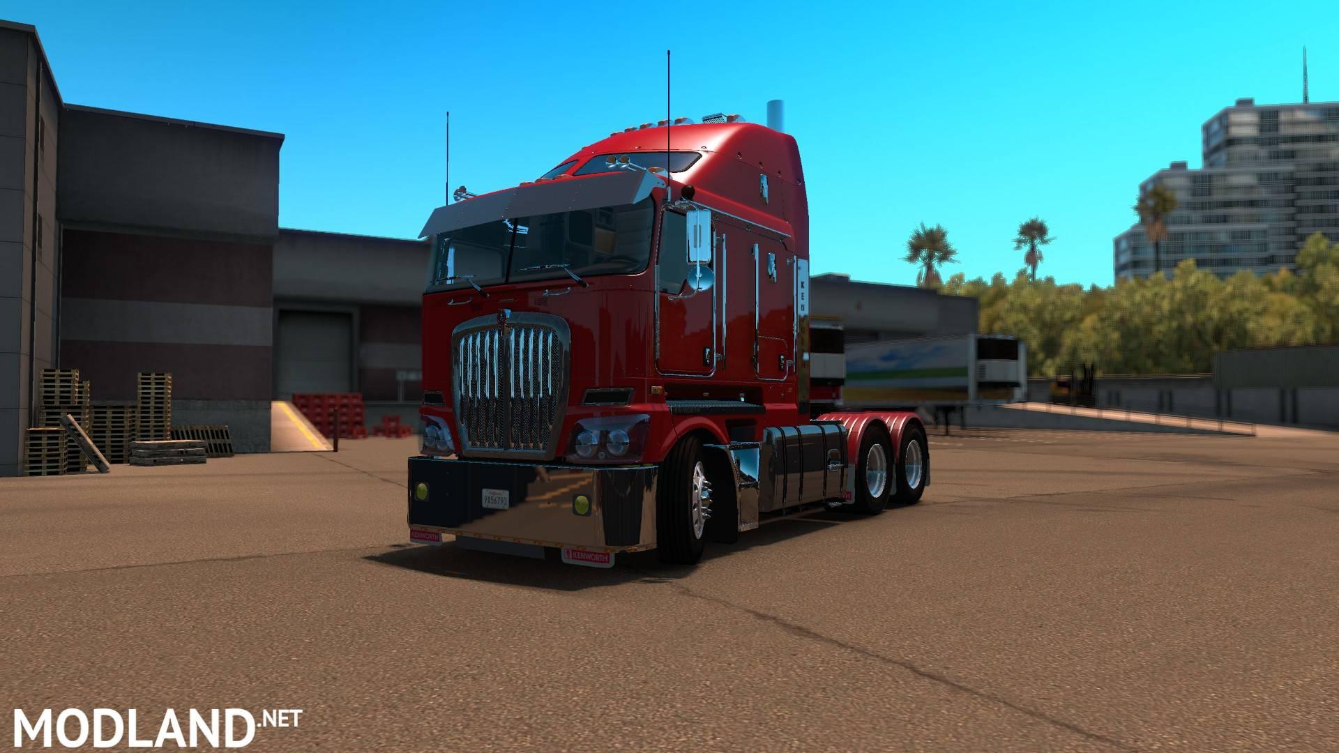 Kenworth k200 ATS Sn4k3r Edit mod for American Truck ...