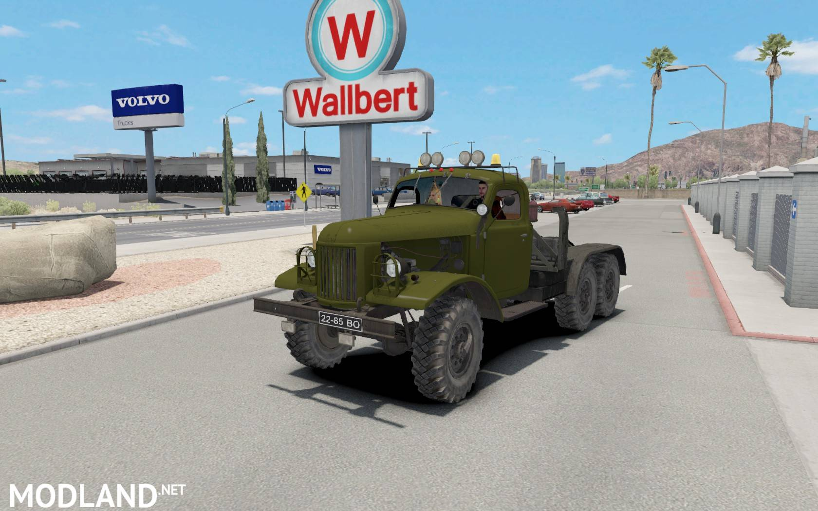 Zil 157 for ATS mod for American Truck Simulator, ATS Zil Home Design Html on