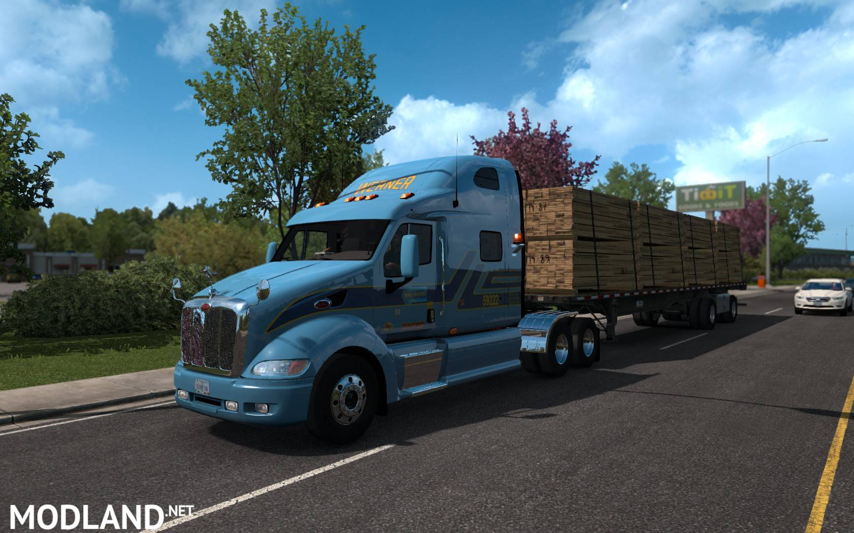 Peterbilt 387 v2 1 for 1 32-1 34 x mod for American Truck Simulator, ATS