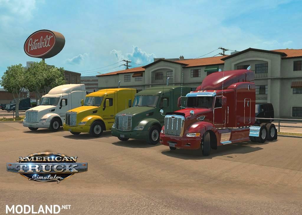 Peterbilt 386 mod for American Truck Simulator, ATS