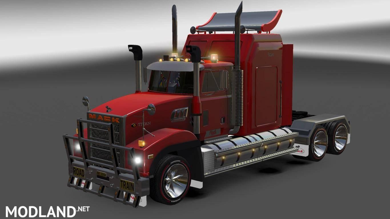 Mack Titan Mod For American Truck Simulator Ats