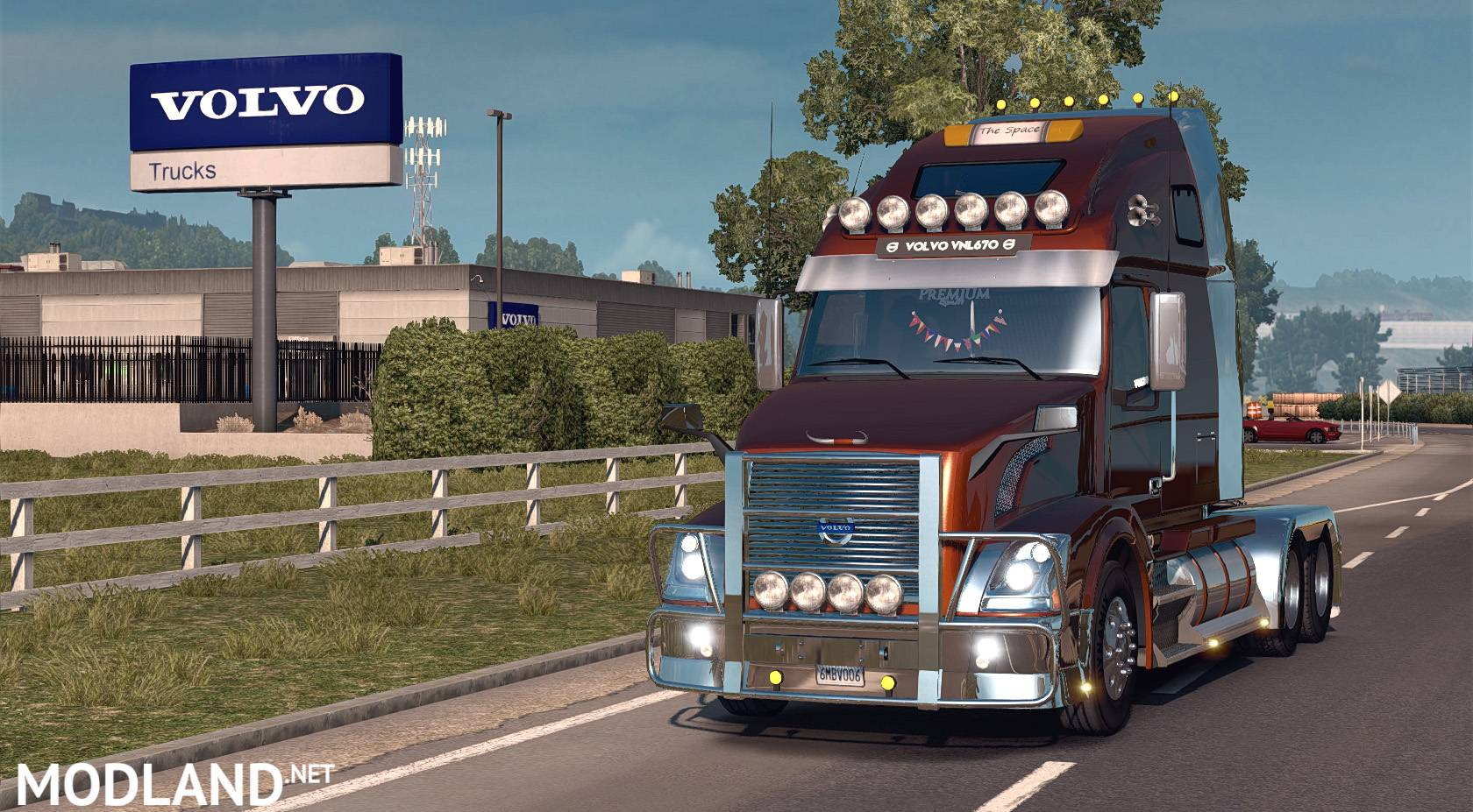 Volvo VNL670 v 1.4.2 (Only for ATS v1.3) mod for American Truck Simulator, ATS