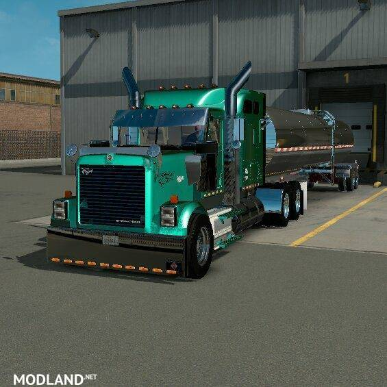 International 9300i For 1 6 Mod For American Truck