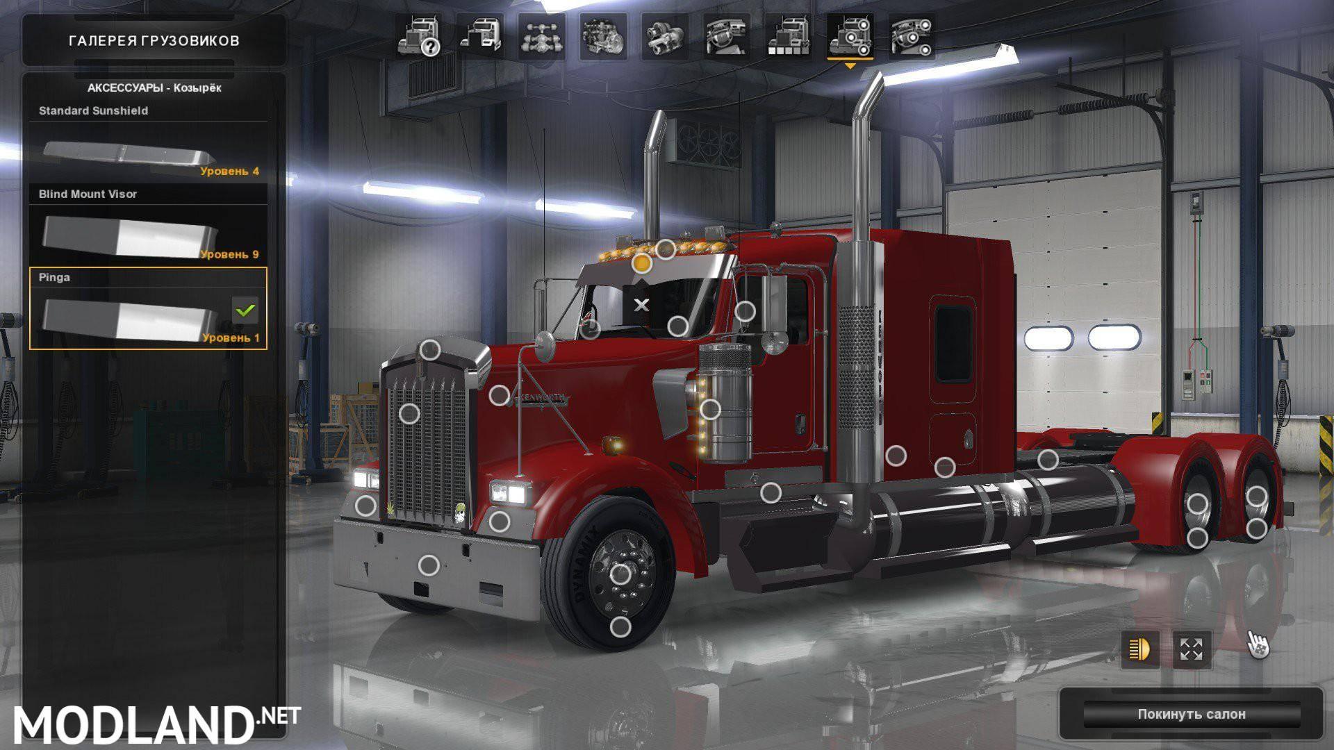Kenworth W900 1 3 Edit Pinga Mod For American Truck