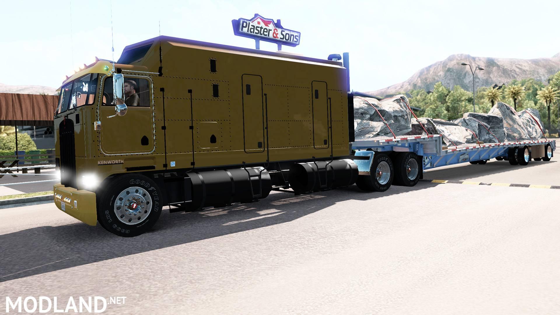 Kenworth K100 ATS 1.5.x mod for American Truck Simulator, ATS