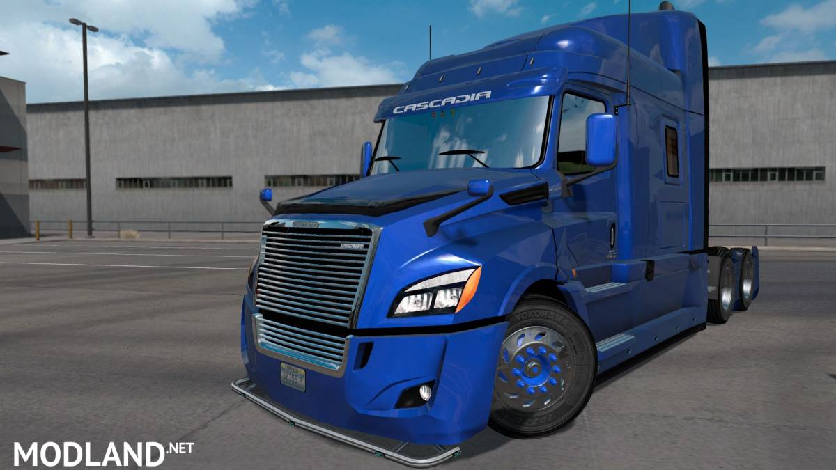 freightliner cascadia 2018 ultrabald edit mod for. Black Bedroom Furniture Sets. Home Design Ideas