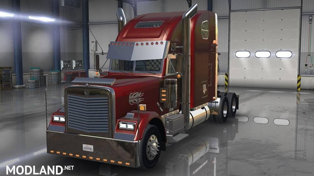 Freightliner Classic Xl Custom Edit Mod For American Truck