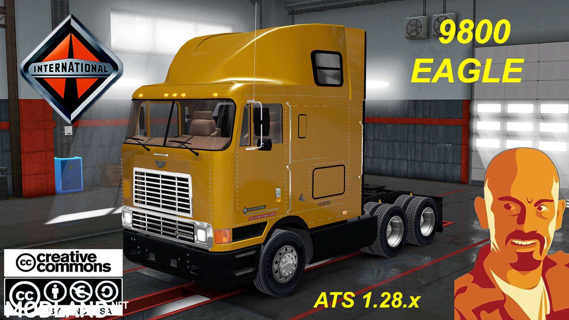 International 9800 Eagle Ats 1 28 X Mod For American Truck