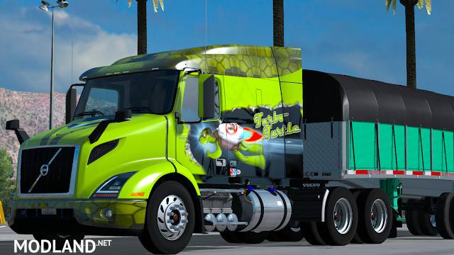 volvo vnr 2018 v1 7 mod for american truck. Black Bedroom Furniture Sets. Home Design Ideas
