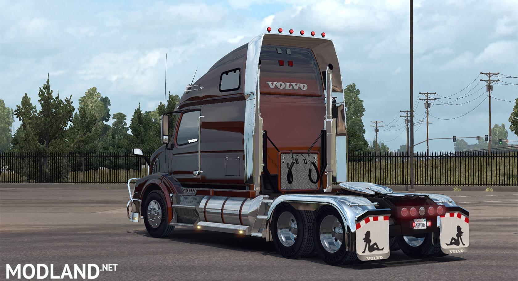 Volvo VNL670 for ATS v1.3 by Aradeth mod for American ...