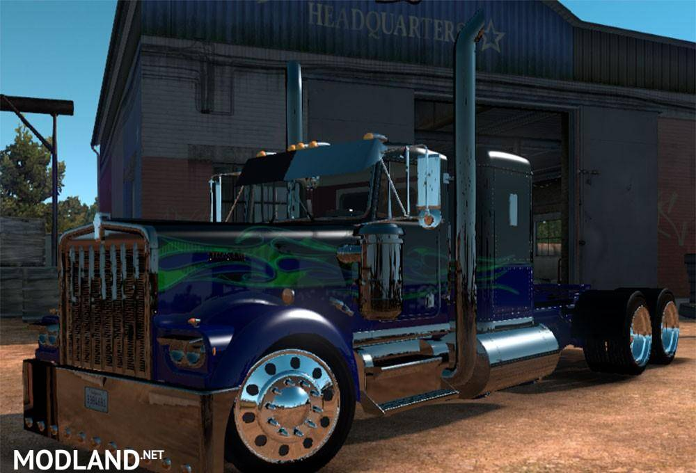Ats Kenworth W900a Custom Mod For American Truck Simulator