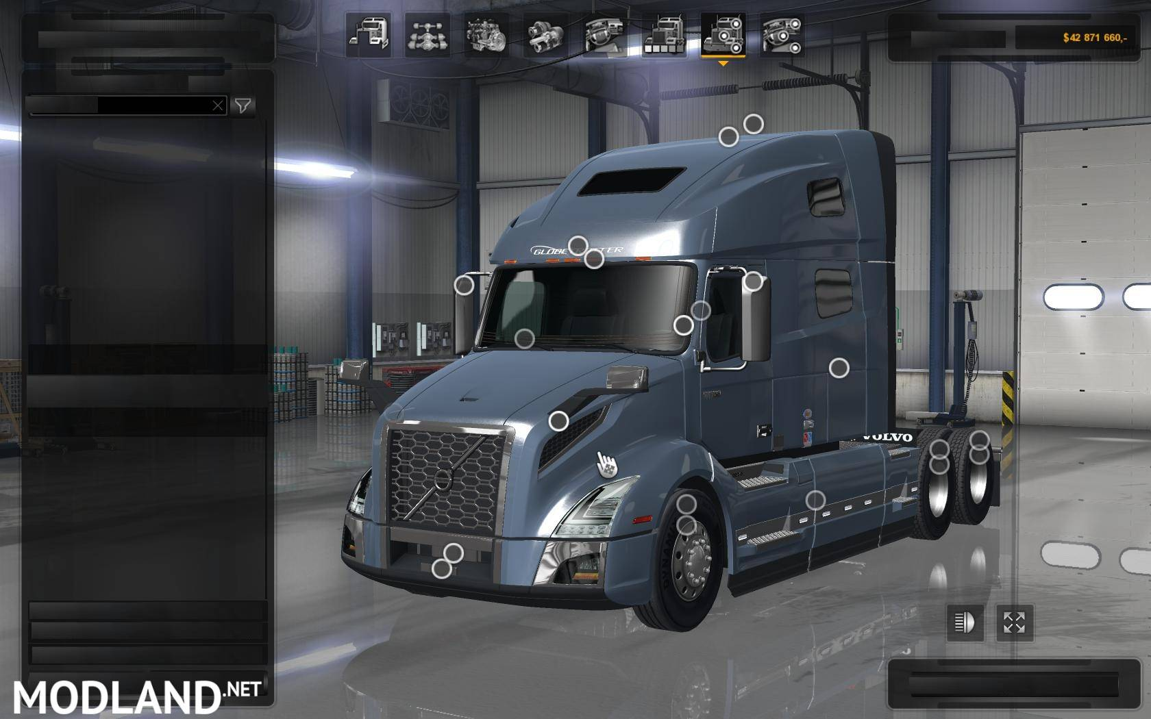 volvo vnl 2018 mod for american truck simulator ats. Black Bedroom Furniture Sets. Home Design Ideas