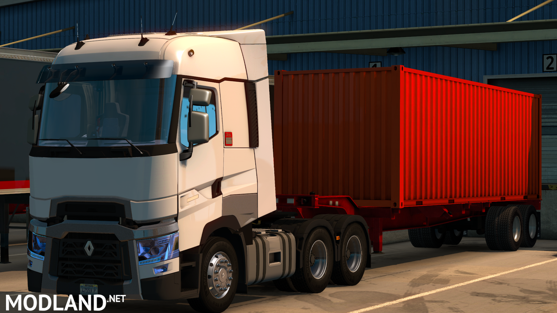 renault t mod for american truck simulator ats. Black Bedroom Furniture Sets. Home Design Ideas