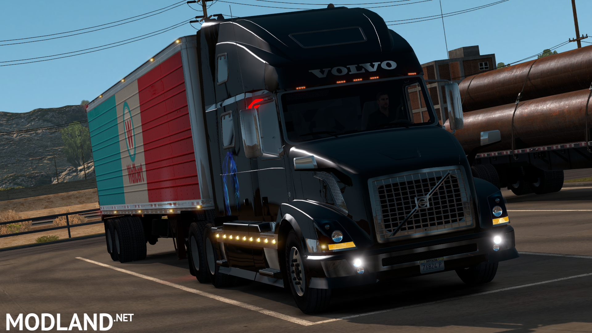 volvo vnl mod for american truck simulator ats. Black Bedroom Furniture Sets. Home Design Ideas