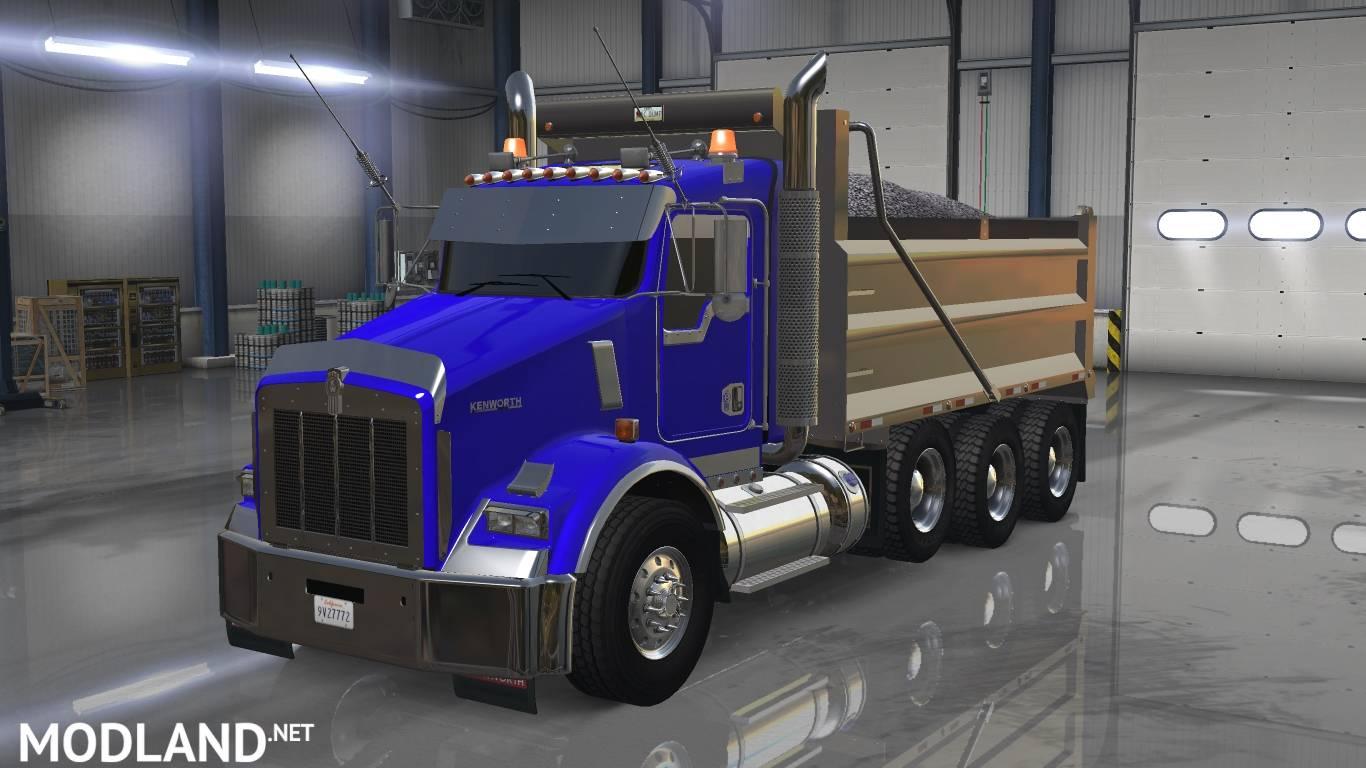 Kenworth T800 Update mod for American Truck Simulator, ATS