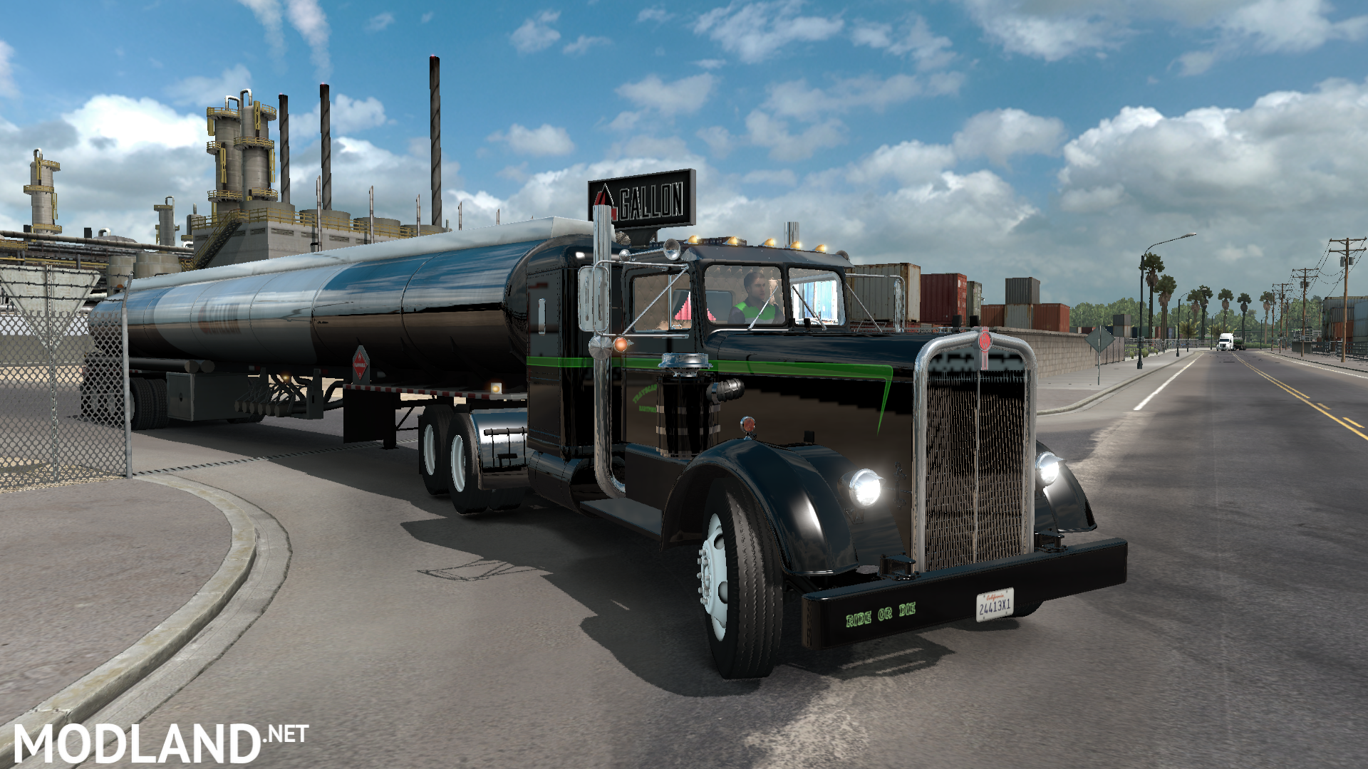 ats kenworth 521 v1 1 mod for american truck simulator ats. Black Bedroom Furniture Sets. Home Design Ideas