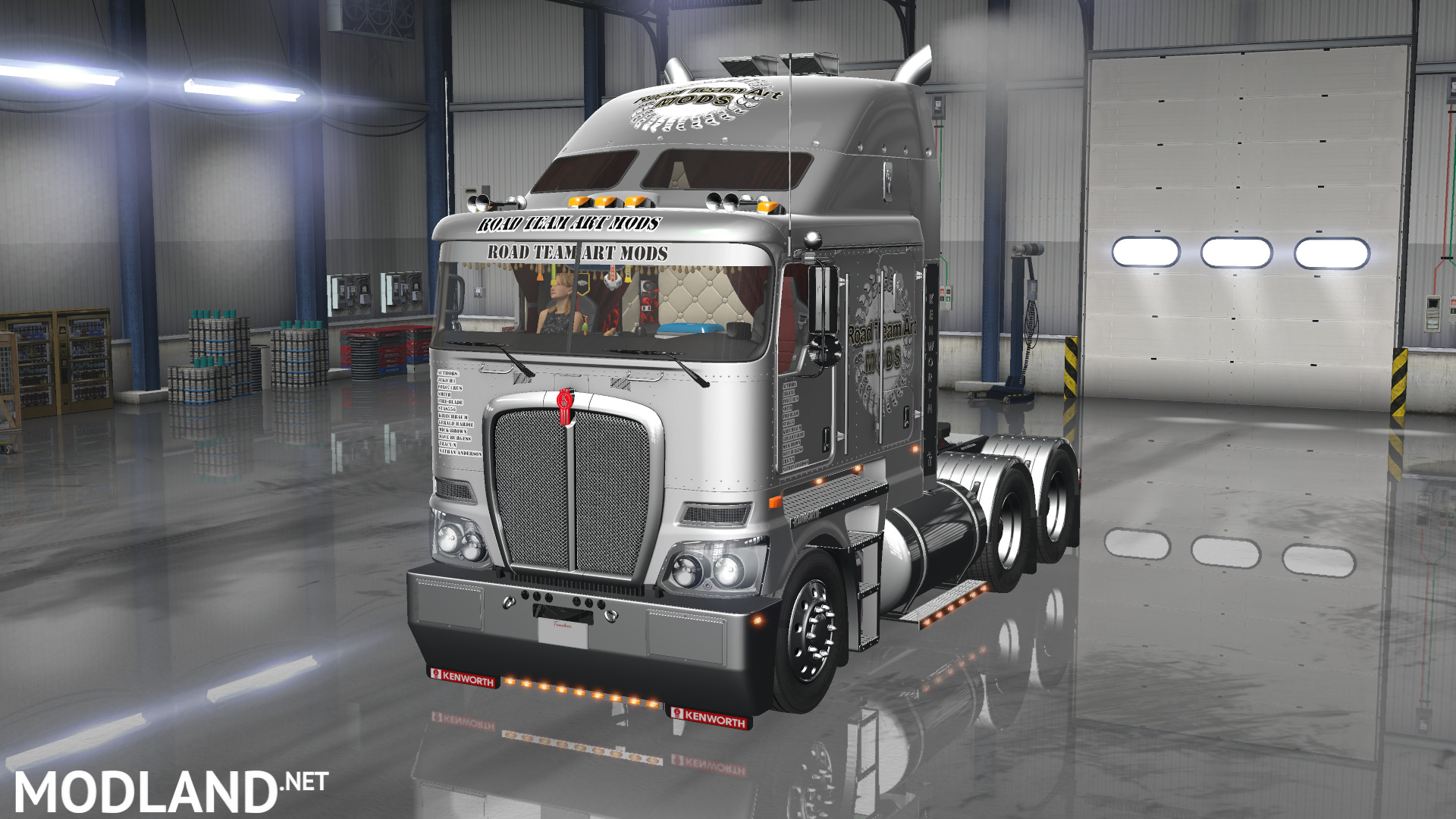 update kenworth k200 mod for american truck simulator. Black Bedroom Furniture Sets. Home Design Ideas