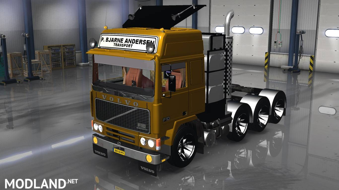 volvo fh10 8x4 mod for american truck simulator ats. Black Bedroom Furniture Sets. Home Design Ideas