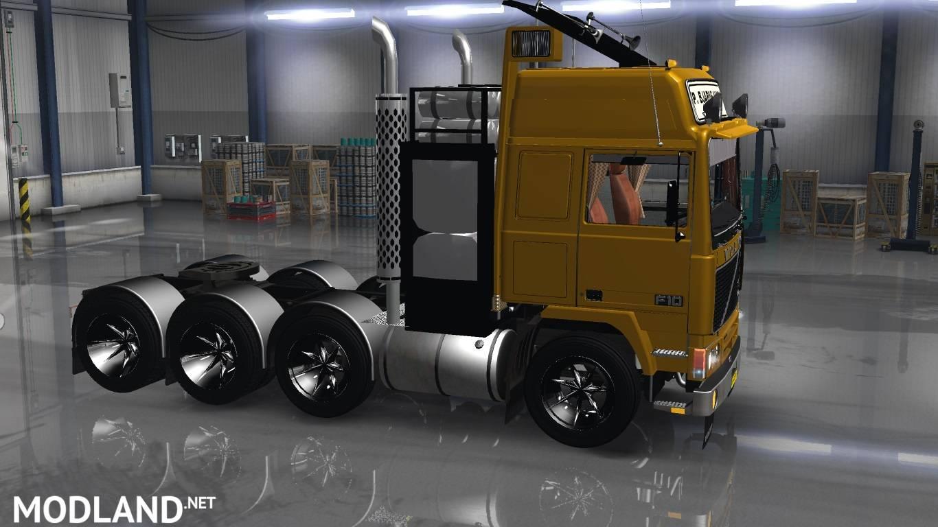 Volvo FH10 8X4 mod for American Truck Simulator, ATS