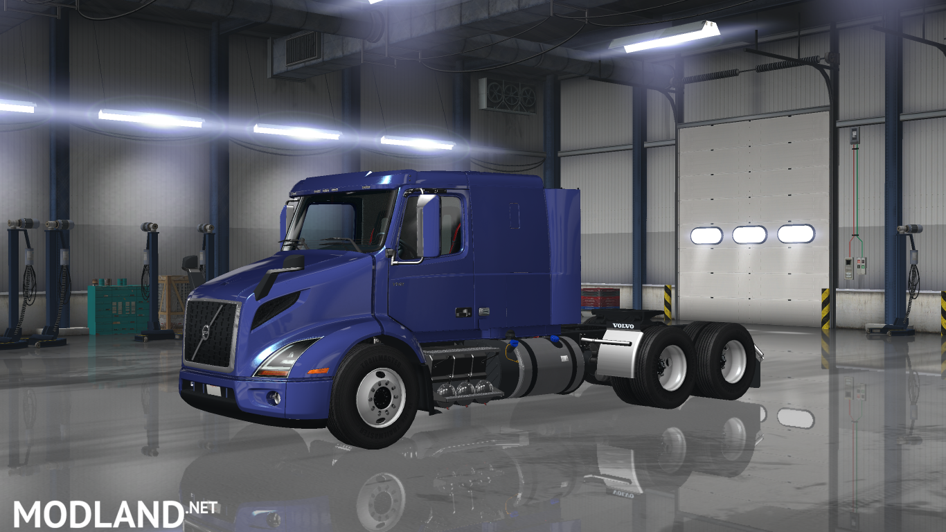 volvo vnr 2018 mod for american truck simulator ats. Black Bedroom Furniture Sets. Home Design Ideas