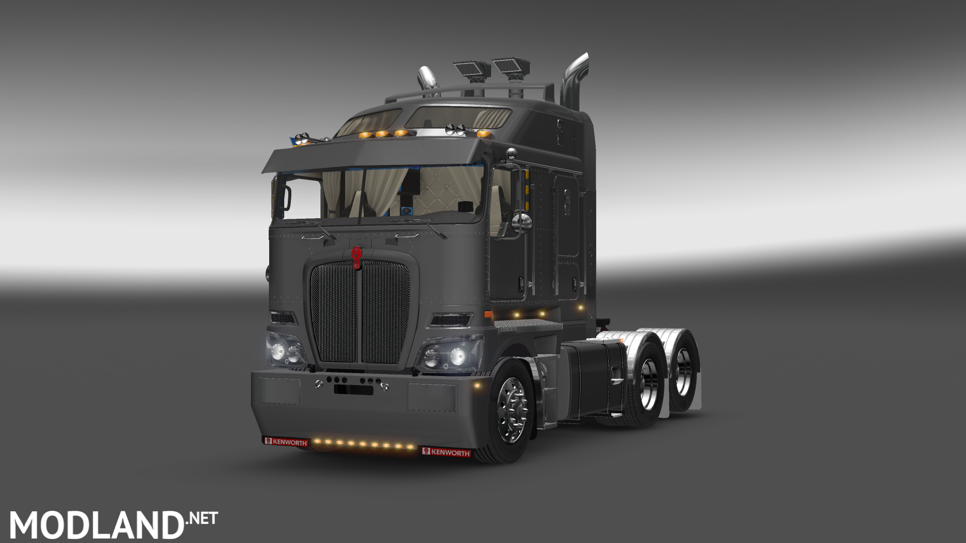 Ats Kenworth K200 V14 Mod For American Truck Simulator Ats