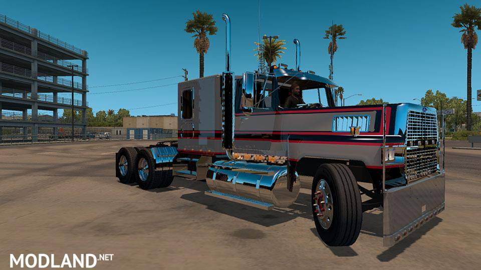 Ford LTL9000 v1.6 Fixed mod for American Truck Simulator, ATS