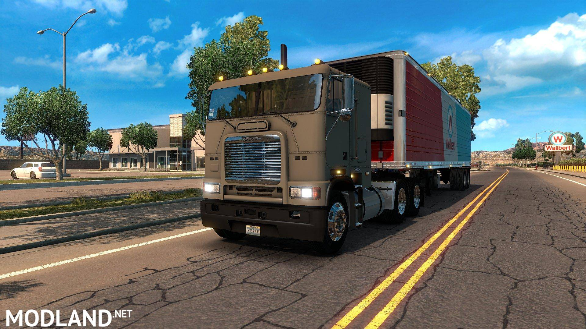 Western Star 5700 >> Freightliner FLB Update mod for American Truck Simulator, ATS