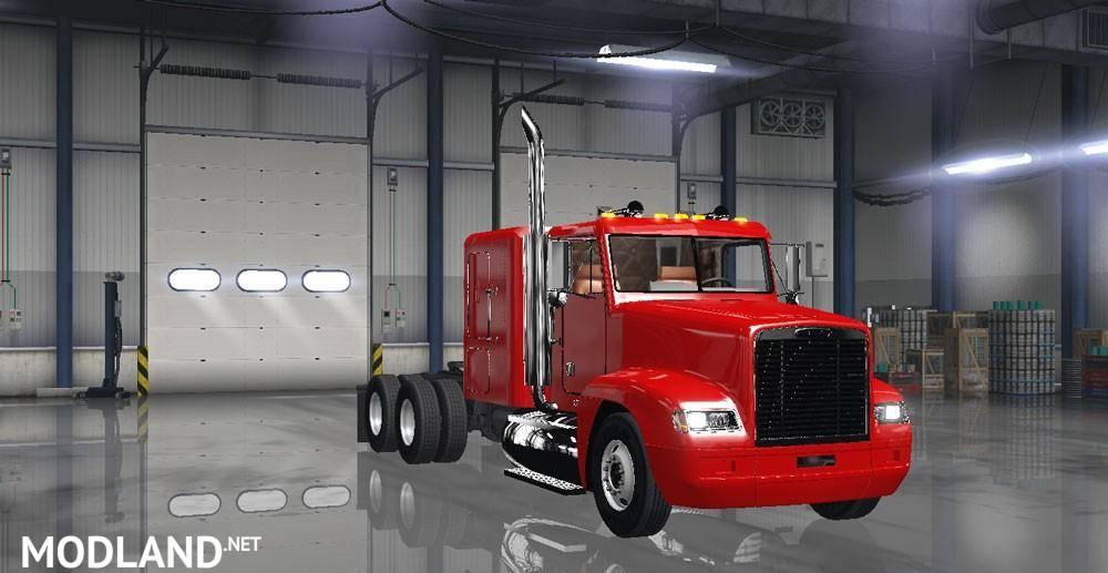 Freightliner Fld 120 V1 2x Mod For American Truck